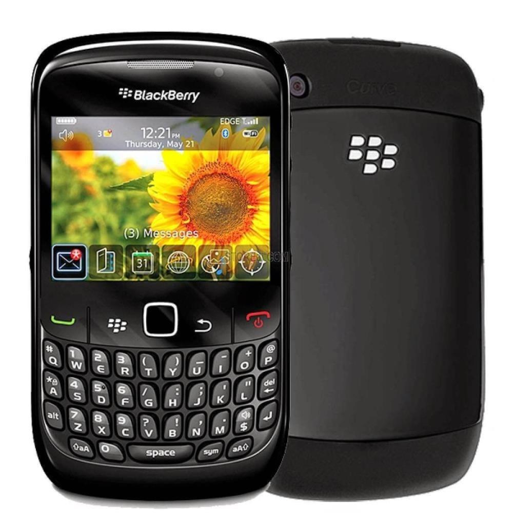 Blackberry Curve 8520 (RCG41GW), 256MB, UNLOCKED, 2G, Black