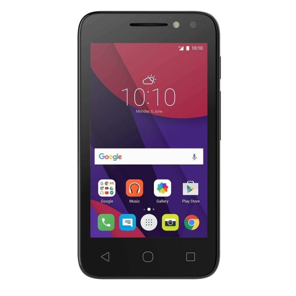 Alcatel Pixi 4 (4034X) 4 GB, O2 Locked, Android, Black, 3G