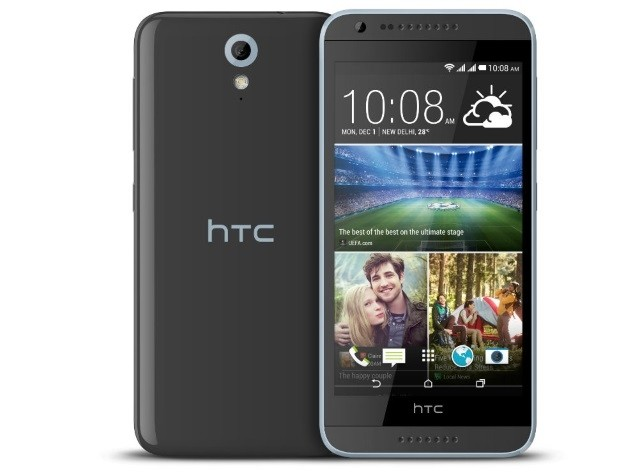 HTC Desire 620, 8GB, Gray, Three Locked, 4G, Android Mobile
