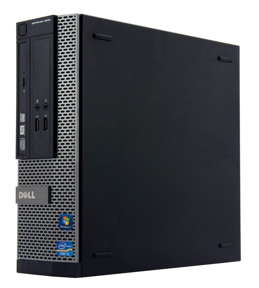 Dell Optiplex 3010, Intel i5-3470, 3.20GHz, 4GB Memory, 500GB HDD, Windows 10, Refurbished Desktop