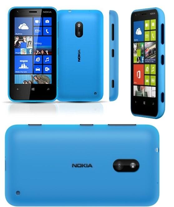 Nokia Lumia 620 (RM-846) Black, 8GB, Unlocked, 3G, Windows, Blue