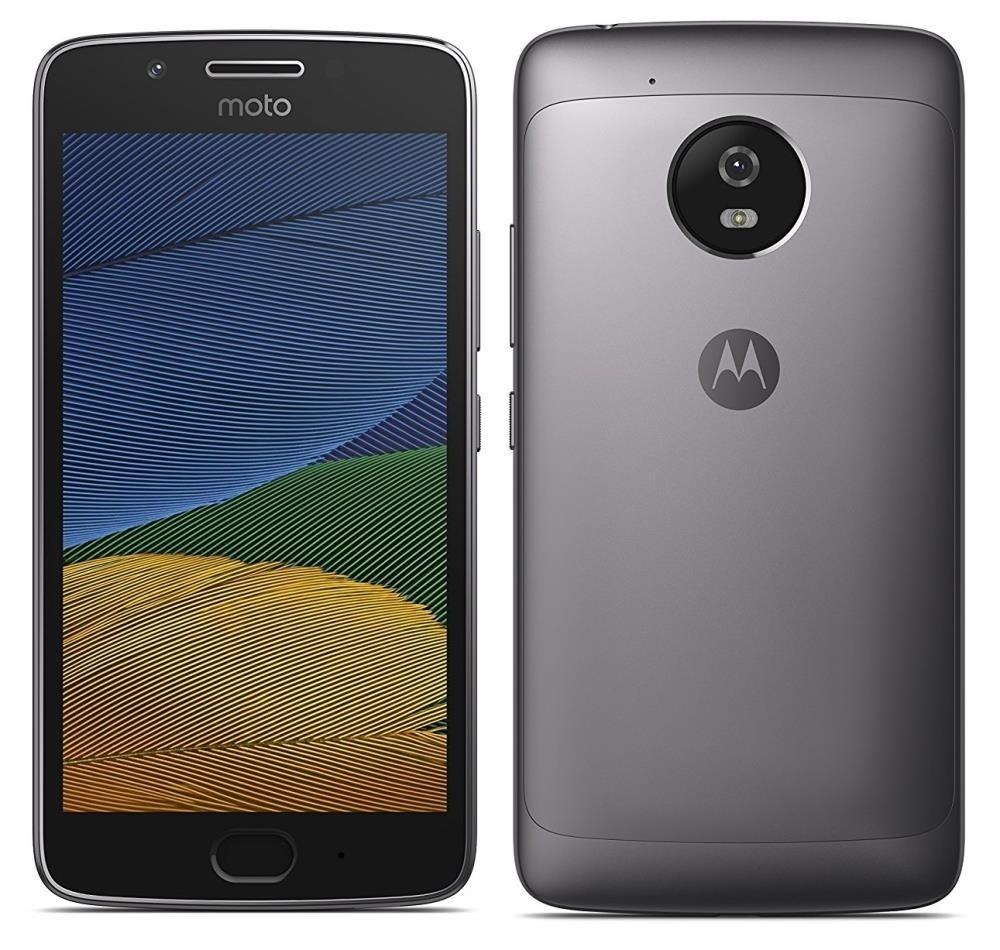 Motorola Moto G5 (XT1675) 16gb, Unlocked. 4G, Lunar Grey