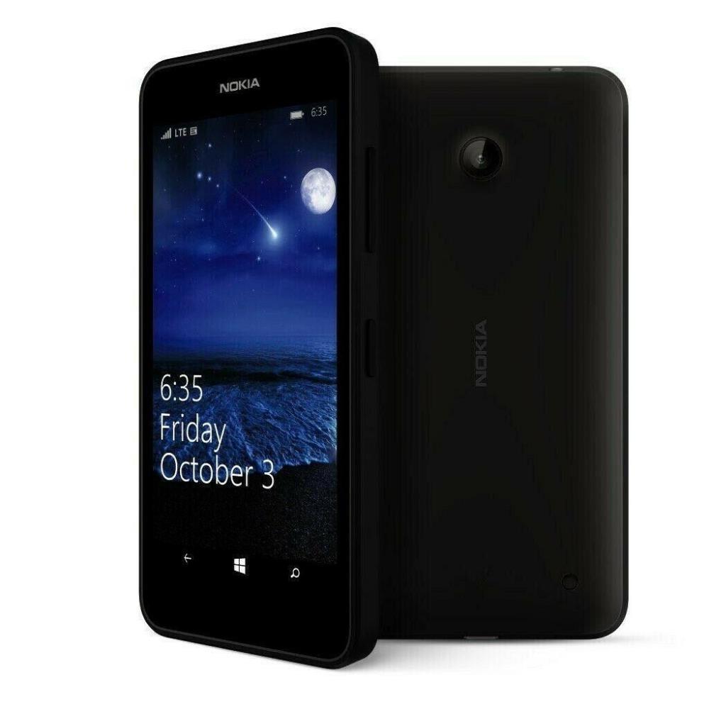 Nokia Lumia 635 Black, 8GB, EE Locked, Grade 2, Refurbished Phones