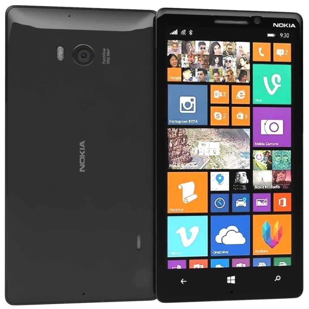 Nokia Lumia 930 Black, 32GB, EE Locked, 4G, Windows Phone