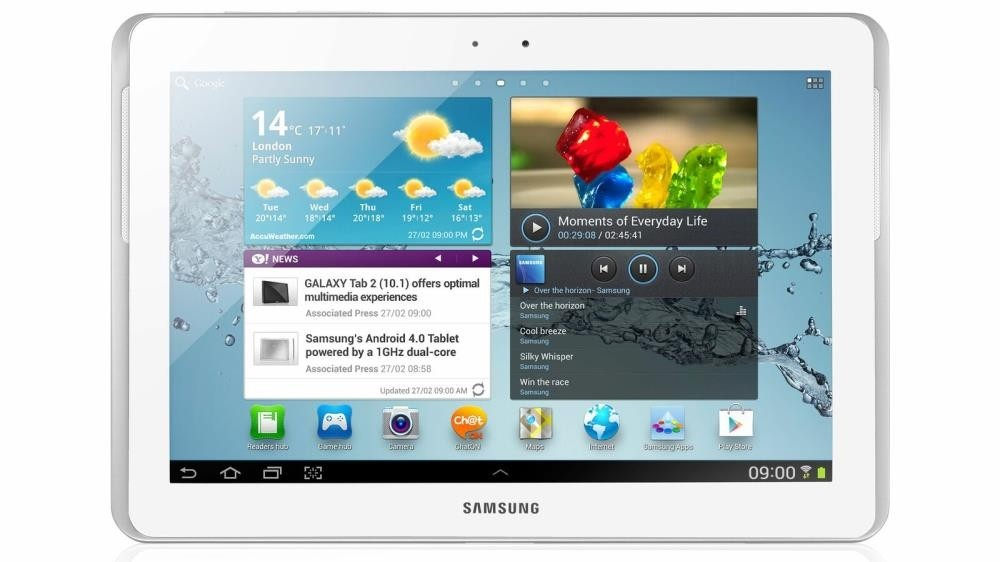 Samsung Galaxy Note 10.1 (GT-N8010) 16 GB, WiFi, Android, White/Silver