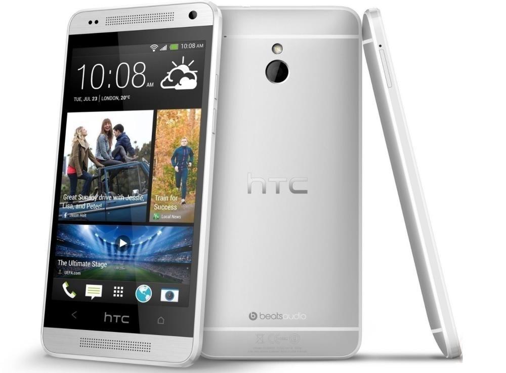 HTC One mini PO58200) 16gb, EE Locked, 4G, Glacial Silver