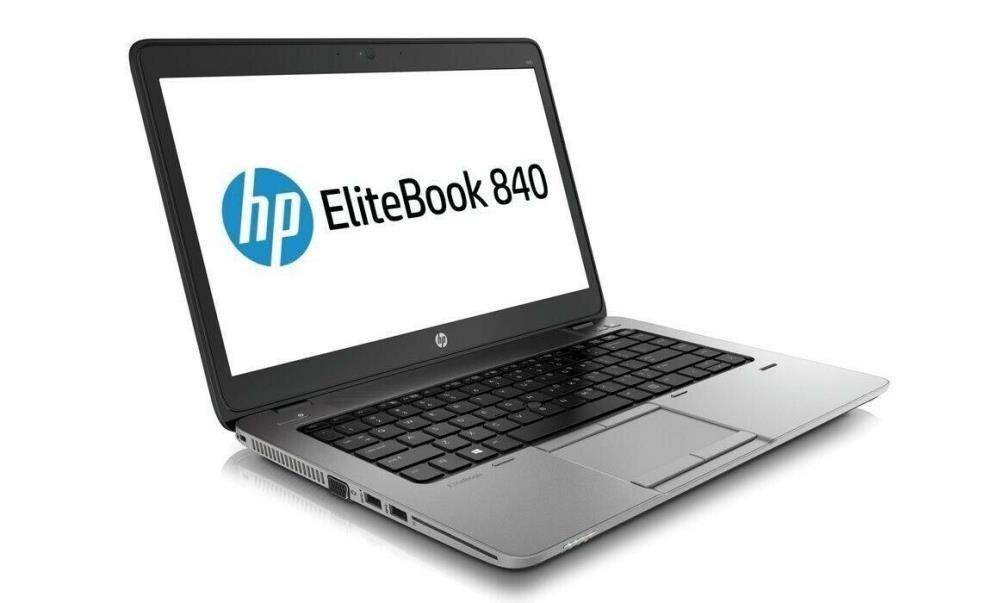 """Hp EliteBook 840 G1, i5-4300 1.90GHz, 8GB DDR3, 500GB HDD, 14"""", Win10, Refurb"""