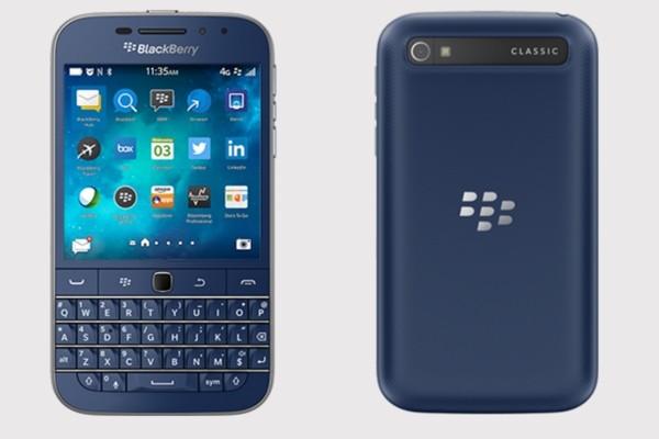 "Blackberry Classic (SQC100-1), 16gb, 3.5"", UNLOCKED, 4G, BLUE"