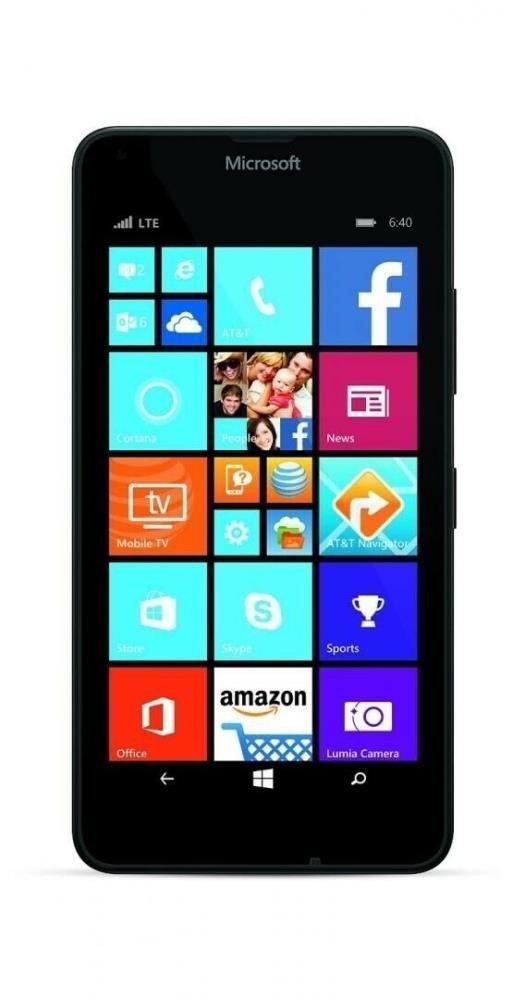 Nokia Lumia 640 Black, 8GB, EE, Grade 3, Refurbished Phones