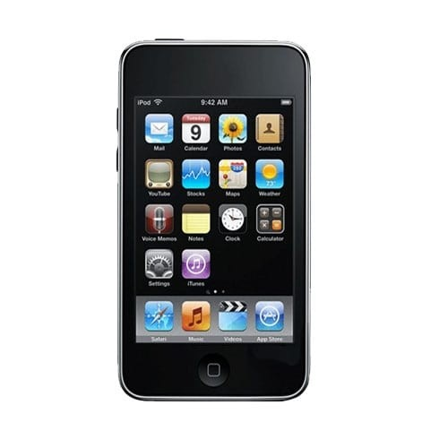 Apple Ipod Touch (A1318), 3rd Generation, 64GB, Black/Silver