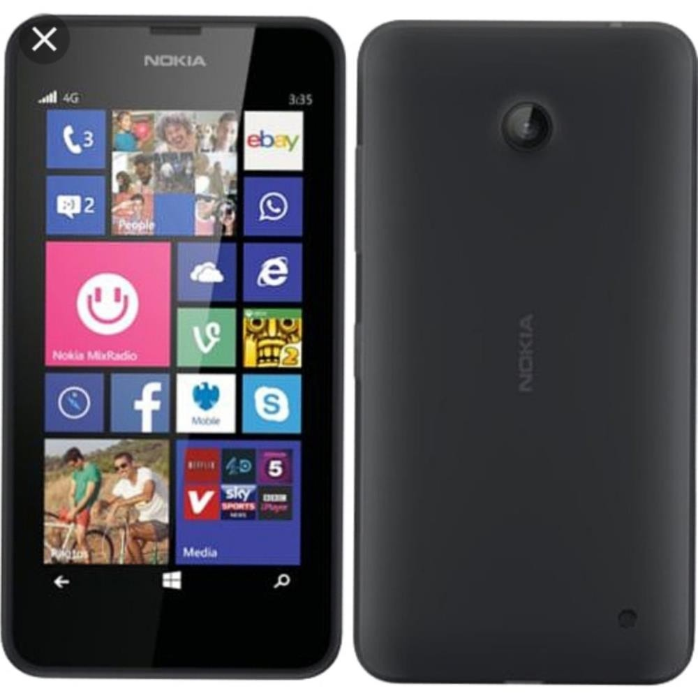 Nokia Lumia 630 (RM-976) Black, 8GB, UNLOCKED, 3G
