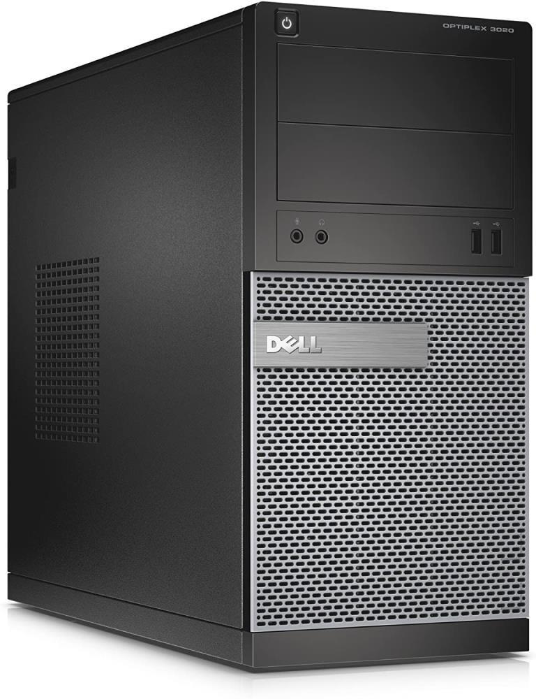 Dell Optiplex 3020 MT, Intel Core i5-4570 @ 3.20GHz, 4GB DDR3, 500GB HDD, Windows 10