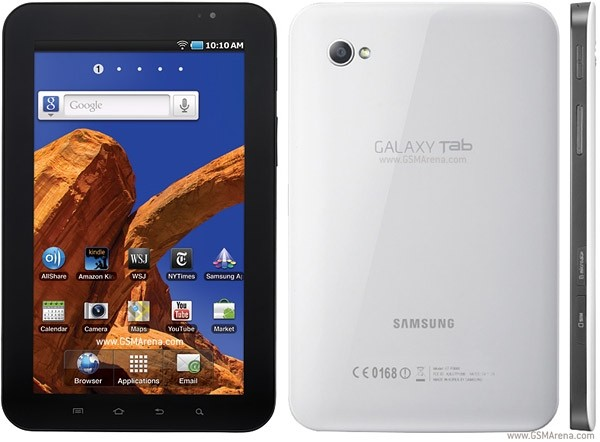 """Samsung Galaxy Tab Wifi (GT-P1010), 16GB, 7.0"""", ANDROID, WIFI Only, Black"""