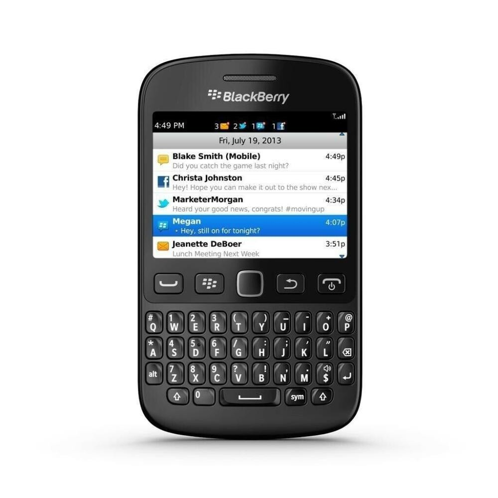 Blackberry 9720 Black, Vodafone locked, Grade 2, Refuirbished Phones