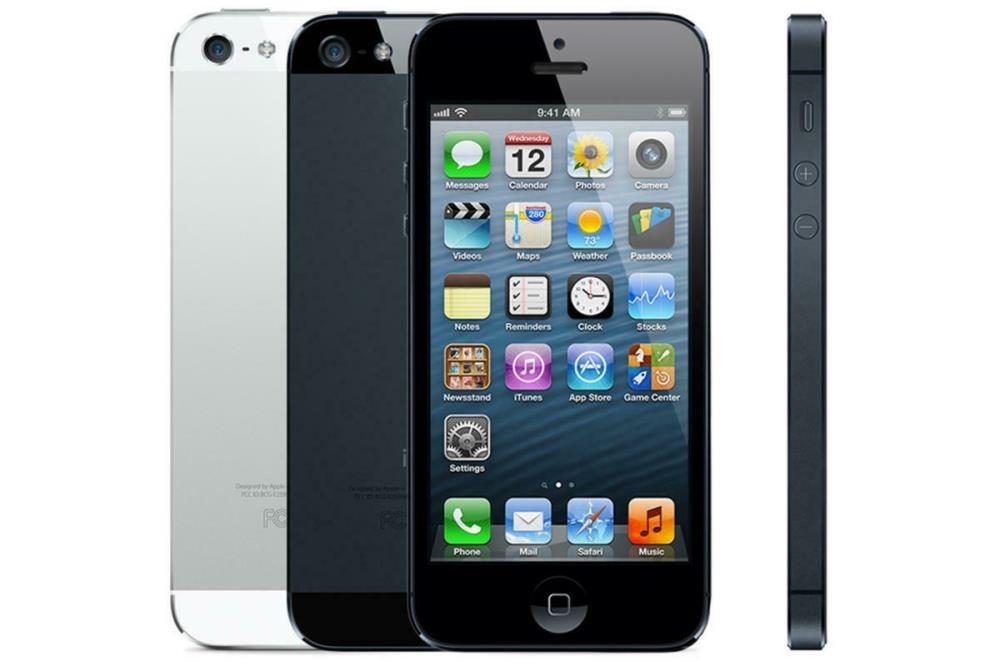 Apple Iphone 5 (A1429) 16GB, EE Locked, 4G, Black & Slate