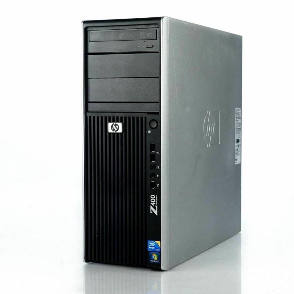 HP Z400 Workstation Intel Xeon W3550 3.06GHz 4GB DDR3 500GB HDD GT610 Windows 10