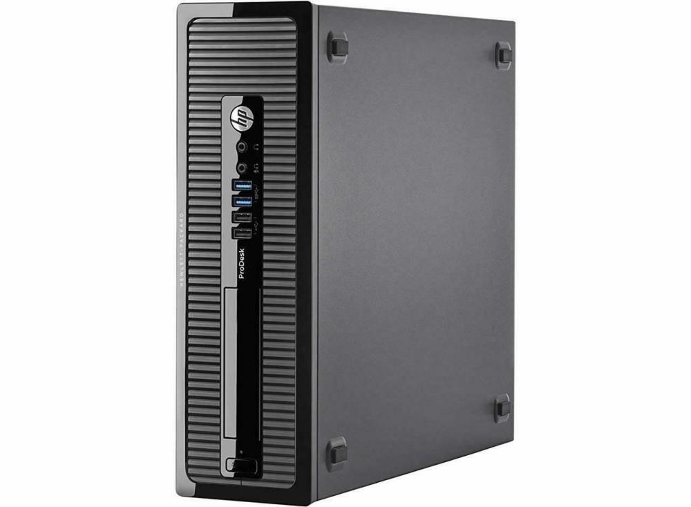 HP ProDesk 400 G1 SFF, i5-4590@3.3GHz, 4GB DDR3, 500GB HDD, Win 10