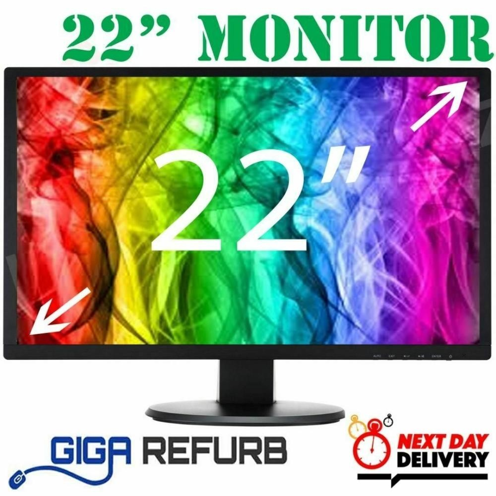 "Dell 22""  VGA Monitor"