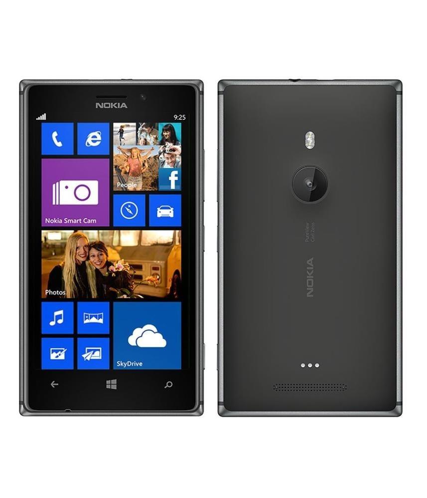 Nokia Lumia 925 (rm-892) Black, 16GB, EE Locked, 4G, Windows Phone