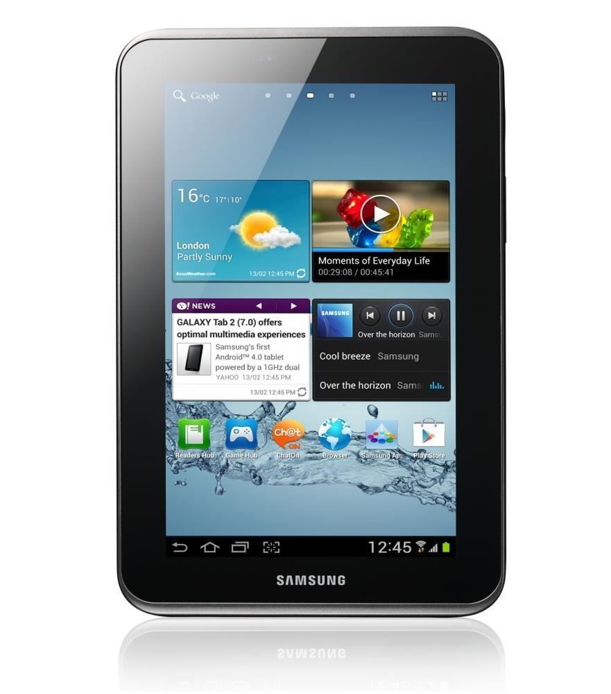 SAMSUNG GALAXY TAB 2 (GT-P3110) 7'' 8GB, WIFI, BLACK, ANDROID 4.2.2