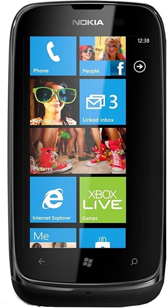 Nokia Lumia 610 (RM-835) Black, 8GB, Vodafone Locked, 4G, Windows, Black