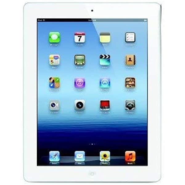 Apple iPad 2 Wi-Fi + Cellular (A1396), 16GB, Unlocked, IOS, White