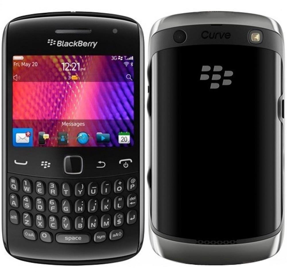 Blackberry Curve 9360 (REM71UW), 512MB, UNLOCKED, 3G, Black