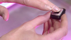 The smart button controlled by your fingerprints