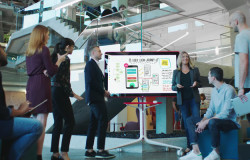 Google's 55-inch 4K Jamboard Confronts Surface Hub With Bargain $5,000 Price Tag In May