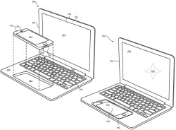 Apple Files Patent For iPhone To MacBook Laptop Dock Design