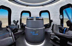 Jeff Bezos Gives Glimpse Inside Blue Origin Capsule That Will Send Tourists To Space