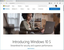 Google Exec Says Windows 10 S Validates Chrome OS Design Philosophy