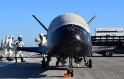 Air Force's Top Secret X-37B Space Plane Lands After Two-Year Mission In Orbit