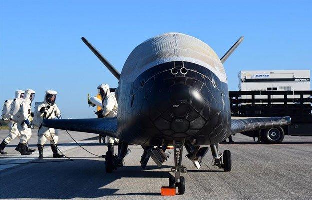 air force x 37b front shot