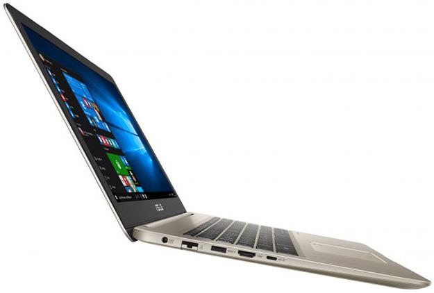 ASUS VivoBook S510 Side