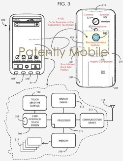 Google Patents Rear Side Touchpad For Future Pixel Smartphone Control