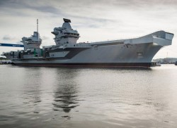 British Royal Navy's New HMS Queen Elizabeth Warship Runs Windows XP, What Could Go Wrong?