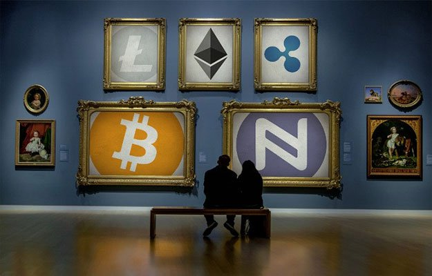 cryptocurrency gallery art