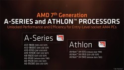 AMD Announces Athlon X4 And A-Series CPUs Compatible With Ryzen AM4 Motherboards