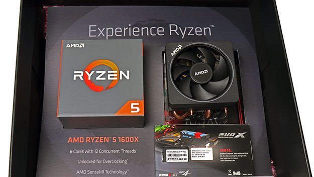 AMD Ryzen 5 1600X Giveaway Kit