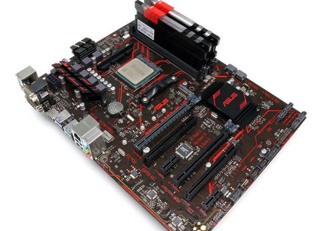 ASUS B350 Motherboards AMD Ryzen 5 1600X In Socket