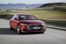 2018 Audi A8 Packs AI Brainpower For Semi-Autonomous Driving And Trick Electronic Suspension