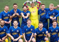 YouTube football team Hashtag United 'living the dream'