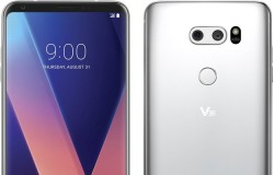 LG V30 Poses With Its Skinny Display Bezels In Full Frontal Photo Leak