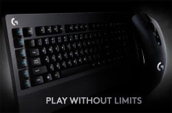 Logitech Frags At LIGHTSPEED With Wireless G603 Gaming Mouse And G613 Mechanical Keyboard