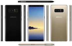 Galaxy Note 8 Briefly Appears On Samsung's Website, 256GB SKU Could Top $1200