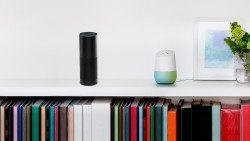 Google Home vs Amazon Echo vs Apple HomePod: Google Home vs Amazon Echo vs Apple HomePod: Echo now supports grocery ordering and Sonos-like multi-room streaming