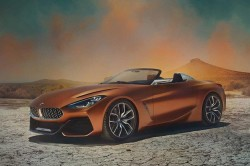 BMW Debuts Gorgeously Hot Concept Z4 Roadster At Pebble Beach