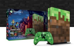 1TB Minecraft Xbox One S Console Bundle, Pig, And Creeper Controllers Available For Preorder