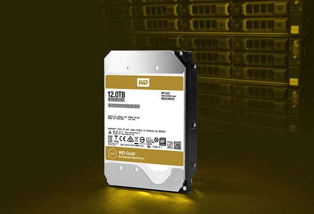 WD 12TB Gold